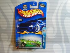 2003 HOT WHEELS  ''TRACK ACES''  #125 = TURBO FLAME = GREEN g5sp , 0711