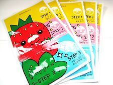 [TONYMOLY] Runaway Strawberry Seeds 3-step Nose Pack  / 6g* 5 pcs