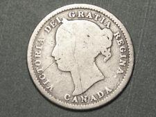 1898 Canada 10 cents (low grade)