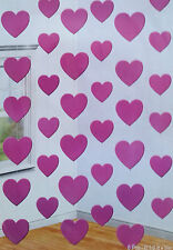 42ft Of Pink Heart Foil String Decoration Ideal for Valentines Day