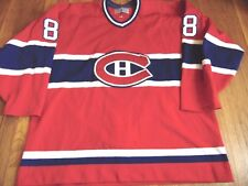 VTG CENTER ICE CCM NHL MONTREAL CANADIENS MARK RECCHHI AUTHENTIC JERSEY 52