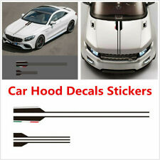 For Mercedes Benz AMG A C E G Class Vinyl Car Styling Head Hood Decal Stickers