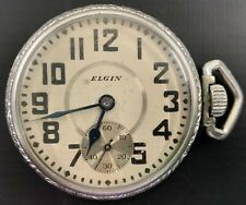 Metal Pocket Watch Antique Elgin Base