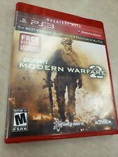 Call of Duty: Modern Warfare 2 (Sony PlayStation 3, 2009) Greatest Hits, w/ book