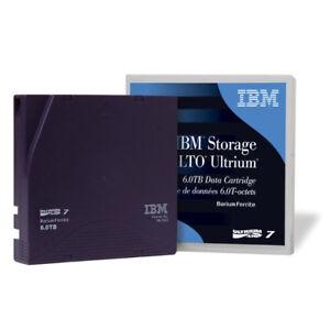 IBM 38L7302 LTO7 Blank Media Tape Data Cartridge 15TB Storage Capacity (NEW)