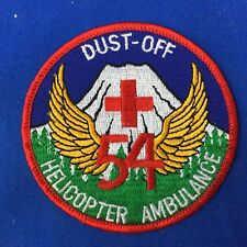 Dust Off 54 Helicopter Ambulance Patch