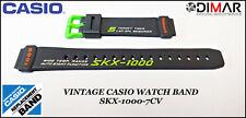 Vintage Casio Original Watch Band SKX-1000-7CV