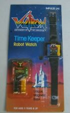 1985 Impulse Voltron Time Keeper Robot Watch MOC #BR113D Unopened / Unpunched
