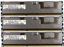 3x 8GB 24GB DDR3 1333 Mhz / 1066 Mhz ECC RAM Apple Mac Pro 4,1 5,1 PC3-10600