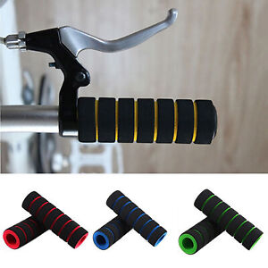 Racing Bicycle Bike Motorcycle Handle Bar Foam Soft Sponge Grip Cover Non-slip