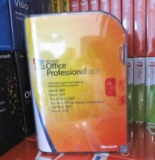 BRAND NEW & SEALED MICROSOFT OFFICE 2007 PROFESSIONAL X12-08297 100% GENUINE UK