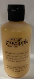 Philosophy Orange Pineapple Smoothie 6 oz 3-in-1 shampoo shower gel bath