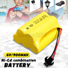 Ni-Cd 900mAh 6V AA Rechargeable Battery Pack Recyclable SM2P Plug For Remote Car