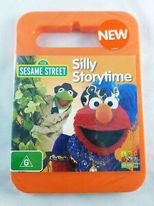 ABC Kids - Sesame Street - Silly Storytime (DVD, 2011, Region 4) NEW & SEALED