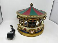Mr Christmas Musical Carousel Holiday Merry Go Round Animated Year Around Songs