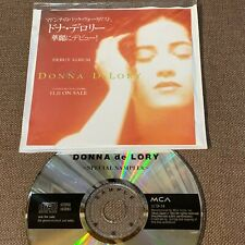 Promo-only DONNA De LORY Special Sampler JAPAN CD ICD-34 w/PS Madonna No Jewel C