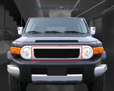 Fits 2007-2014 Toyota FJ Cruiser Black Billet Grille Grill Bolt-On