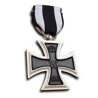 Ordre WK1 Croix de Fer 2.Klasse 1914 avec Bande - EK2 - Haut Collector