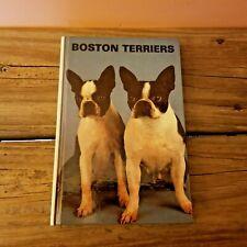 Boston Terriers Hardback Book T.H.F. Publications, Inc. 1983