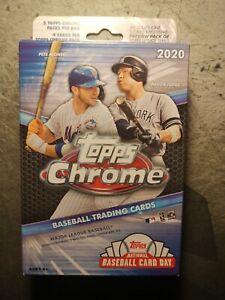 Topps 2020 Chrome Baseball Hanger Box