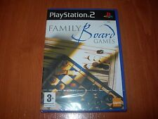 FAMILY BOARD GAMES PS2 (PAL ESPAÑA PRECINTADO)