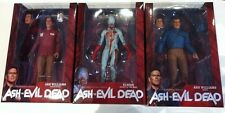 "ASH VS EVIL DEAD TV SHOW 7"" FIGURE SET OF 3 NECA Value Stop Hero Eligos Demon"
