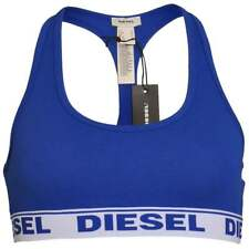DIESEL Women MILEY Cotton Bralette, Blue