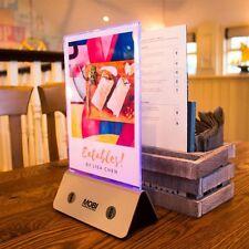 Restaurant menu power bank 10000mAh and 13000mAh original with led