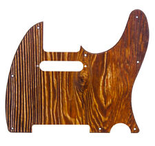 Telecaster Pickguard Scratch Plate Textured Wood Effect Fits Fender USA