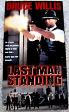 Last Man Standing (VHS, 1997) Bruce Willis, Christopher Walkin, Bruce Dern