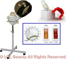 Dual Strength 310W or 620W Hair Steamer Color Processing Beauty Salon Equipment