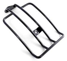 Portapacchi posteriore nero Harley Davidson Softail 2006- Seggiolino 200 Ruota