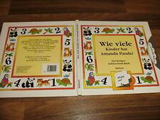 Lustiges Zahlen-Dreh-Buch -- WIE VIELE KINDER hat AMANDA PANDA??