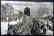 FRANCE~1916 LILLE ~ FRENCH PRISONERS HELD BY GERMAN SOLDIERS ~ RR STATION~ RPPC