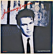 ++JOHNNY LOGAN i'm not in love/such a lady SP 1987 EPIC VG++