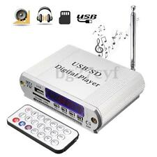 Digital Car Amplifier AMP MP3 USB SD Stereo Audio Music Player FM Radio Remote