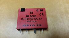 OPTO 22 G4 ODC5 Module Relay Output 60VDC 3A