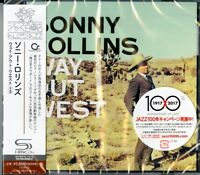 SONNY ROLLINS-WAY OUT WEST-JAPAN SHM-CD BONUS TRACK C94