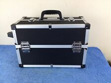 """OPI Professional  Cosmetics Makeup Jewelry Craft Unfolding Carry Hard Case 18"""""""