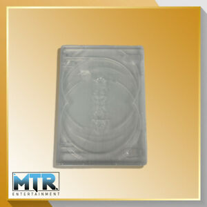 Clear DVD replacement case 1 x 5 (14mm Spine)