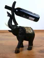 Weinflaschenhalter *Elefant* Flaschenhalter aus Massivholz Weinflaschenständer