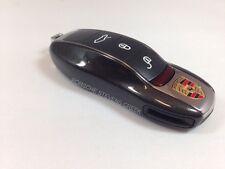 Porsche Painted Key Cap Set CARBON GREY OEM 911 Boxster Cayman Panamera Cayenne