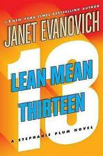 New LEAN MEAN THIRTEEN Janet Evanovich STEPHANIE PLUM BOOK 13 OZ SELLER TRACKING