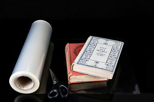 CLEARCOVER DUSTWRAPPER FILM 330mm x 50m book jacket cover