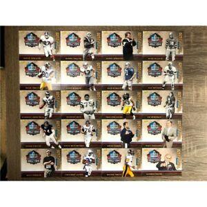 Panini Pro Football Hall of Fame Class of 2020 (20) Card Set