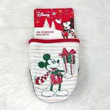 New listing Disney Mickey Mouse Oversized Christmas Mini Mitts | Kitchen, Holiday, Cook