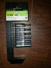 New listing Pittsburgh 1/4 In. Drive Socket Set (6 Pc) 68017