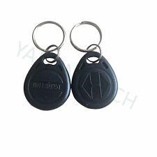RFID Tag 125khz EM4100 Black ABS waterproof Key fob -100pcs