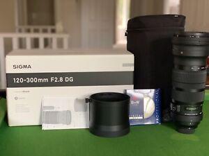 Sigma Lens -120-300 F/2.8 DG OS Sports Lens