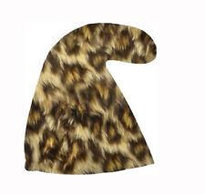 Leopardo Stampa Uomo delle Caverne Nano Da Giardino Cappello SETTE PUFFI  NANI PRIMITIVA Costume 6ea3f81ba4fd